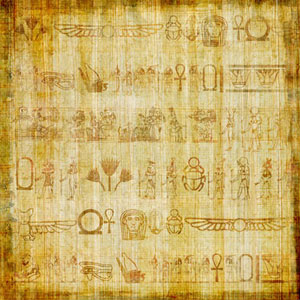 papyrus for instance the history proves that the ancient egyptians did this especially at the beginning of a new year they were optimistic that a new life