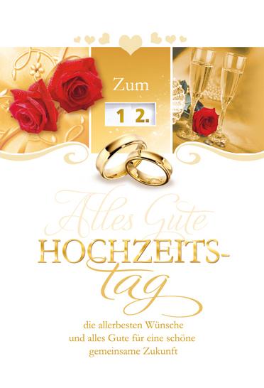Hochzeitstag 12 12. HOCHZEITSTAG